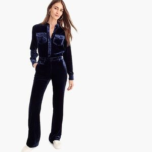 J.crew Classic Fit Shirt In Drapey Velvet 10 Tall